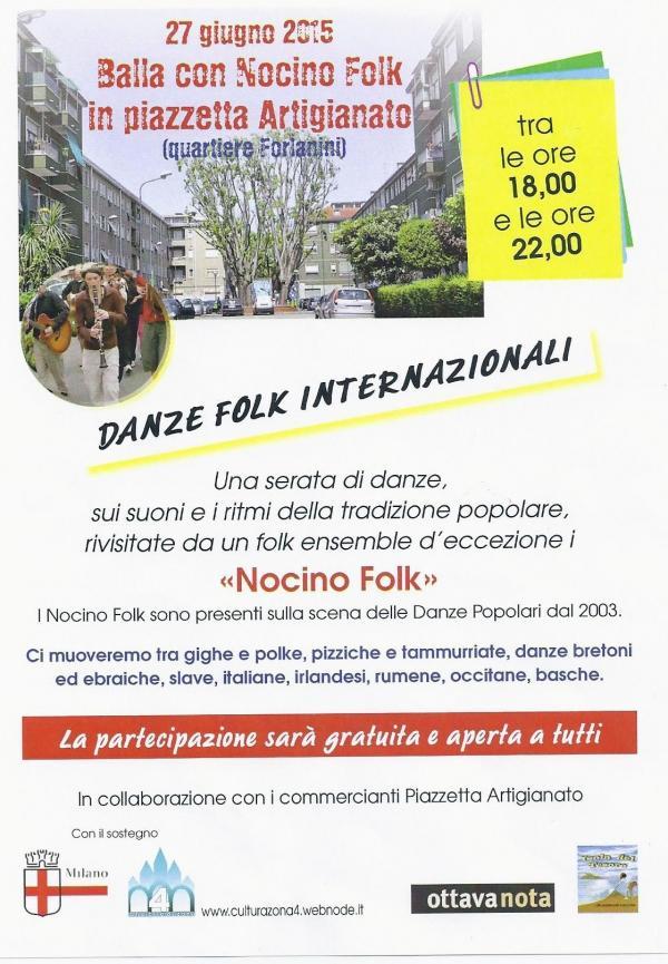Serata danzante in Piazzetta Artigianato!